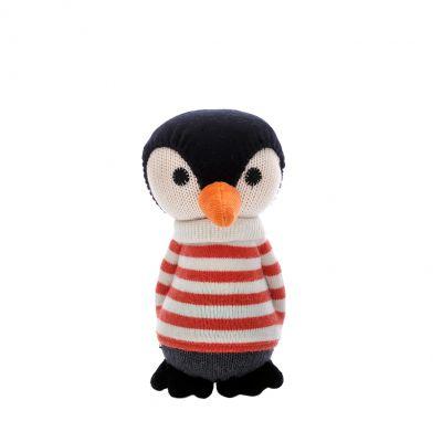 Anne Claire Petit knuffel pinguïn Lars multikleur