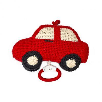 Anne Claire Petit muziekdoos auto rood