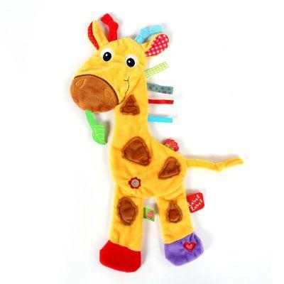 Giraf knuffeldoekje van Label Label