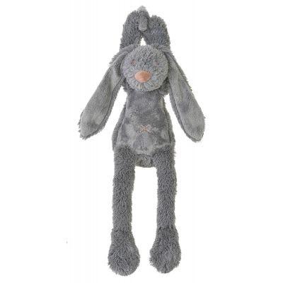Happy Horse muziekdoosje konijn Richie donkergrijs 34 cm