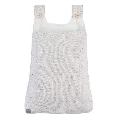 Jollein Boxopbergzak Confetti knit natural
