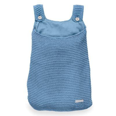 Jollein Boxopbergzak Heavy knit blue