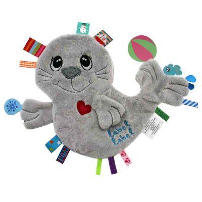 knuffeldoekje zeehond van label label