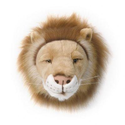 Wild & Soft dierenkop Cesar de leeuw