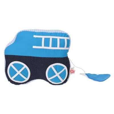 Blauwe auto muziekdoosje Esthex