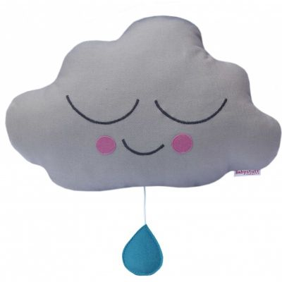 Muziekdoosje wolk met oogjes van babystuff company