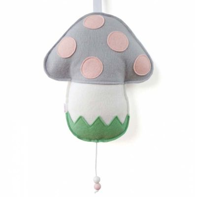 muziekdoosje paddenstoel pastel essies