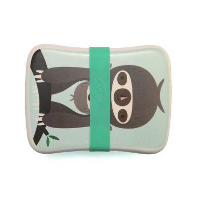 Petit Monkey lunchbox luiaard groen