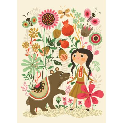Petit Monkey Poster Wild Dream 50 x 70 cm
